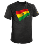 Honest Living Signature Heritage Flag T-Shirt Ghana