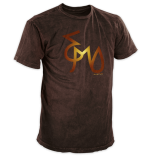 E'Mo Signature Vintage T-Shirt Chocolate
