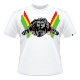 AWL Rasta Iron Lion T-Shirt