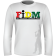 "Honest Livin ""FIDM"" Long Sleeve T-Shirt Front"